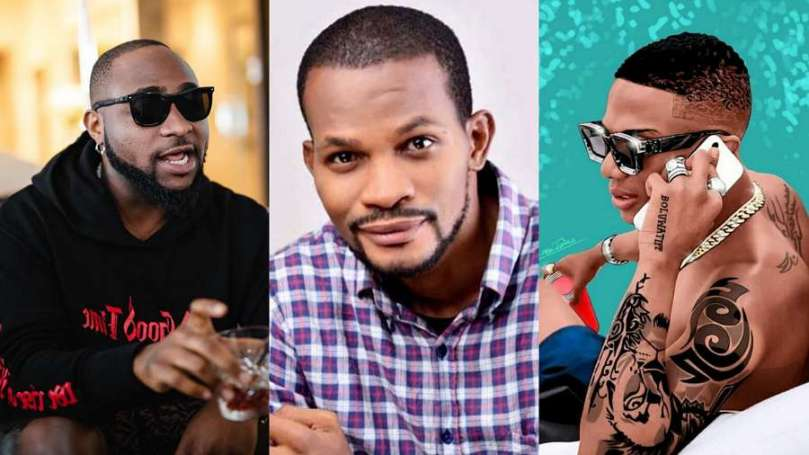 Uche Maduagwu confirms Davido and Wizkid spoke on phone