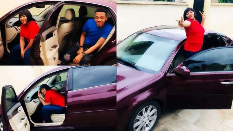 Ultimate Love stars Cherry and Michael receive car gift from benefactor