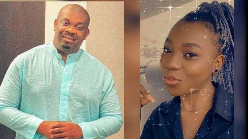 Don Jazzy buys TV and DStv decoder worth N200k for a fan who complains of having non