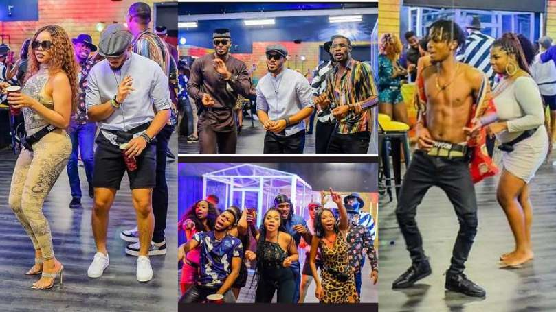 Exclusive moments, photos from first BBNaija Lockdown party