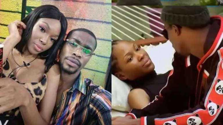 BBNaija: Neo and Vee finally makeup, write each other letter