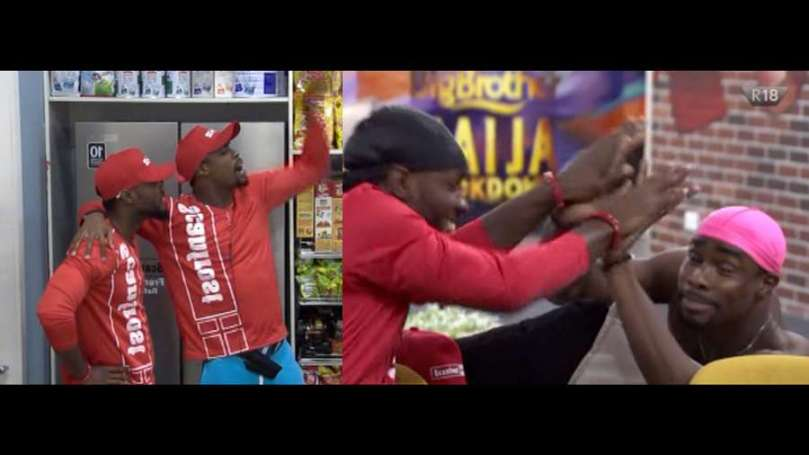 BBNaija: Prince and Neo of Team Refrigerator win My Scanfrost Task