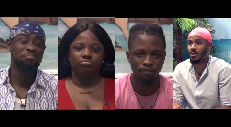 BBNaija: Laycon, Dorathy, Ozo, Trikytee up for possible eviction in week 9