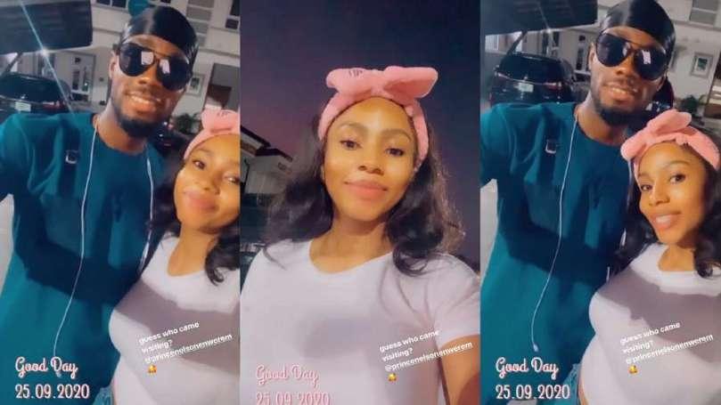 BBNaija: Mercy Eke finally meets her favourite Lockdown Housemate Prince (video)