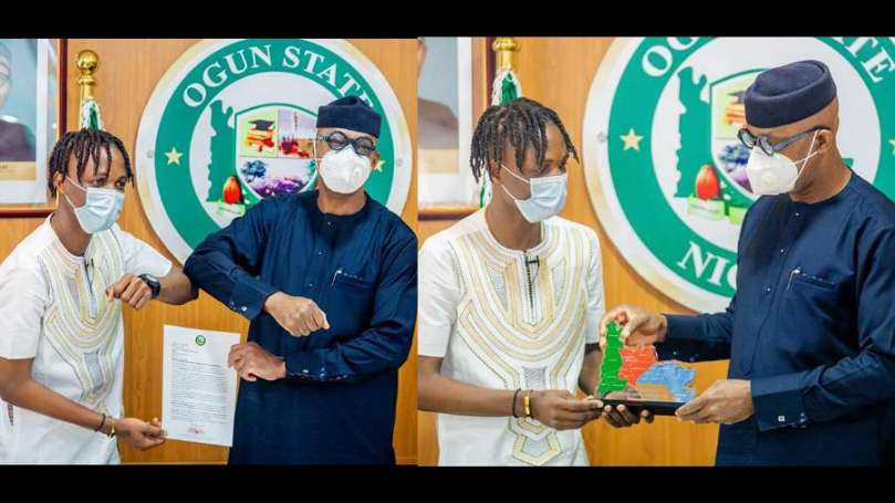 BBNaija: Laycon receives appointment, N5m, three-bedroom house from his State Governor, Dapo Abiodun