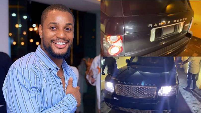 Weeks after gifting his mom a car, actor Alexx Ekubo receives Range Rover SUV from friend