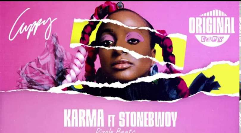 Download Instrumental Cuppy – Karma ft. Stonebwoy (Reprod by Pizole Beats)