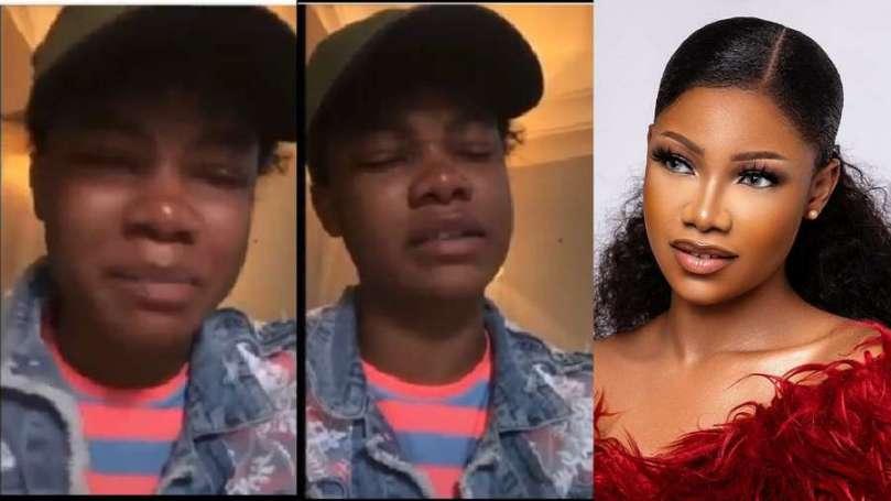 BBNaija's Tacha in tears as she shares past experience (video)