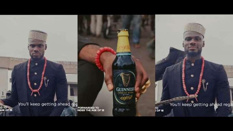 BBNaija star Prince joins Guinness Nigeria