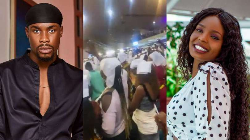 Fans allege BBNaija's Kaisha attended Shiloh to pray for Neo to come back to her