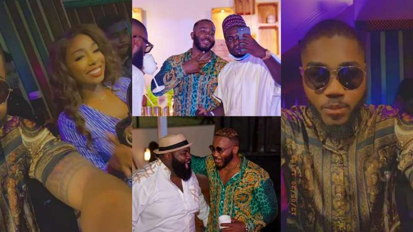 Exclusive highlights from BBNaija Kiddwaya's Ciroc Tour with friends, Praise, Tolanibaj, Brighto, others