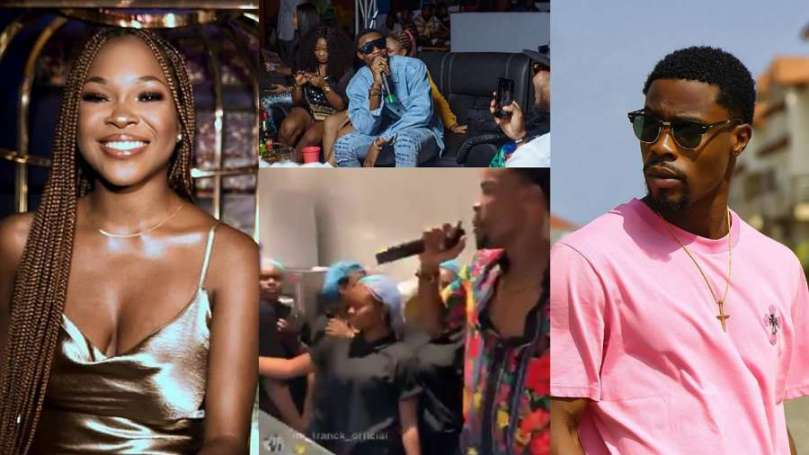 'Why Vee no follow you?' – Warri fans ask Neo at Homecoming event, he replies (video)