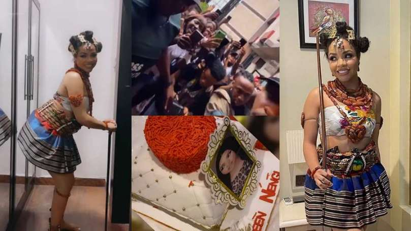 BBNaija's Nengi experiences real love from supporters in Rivers State