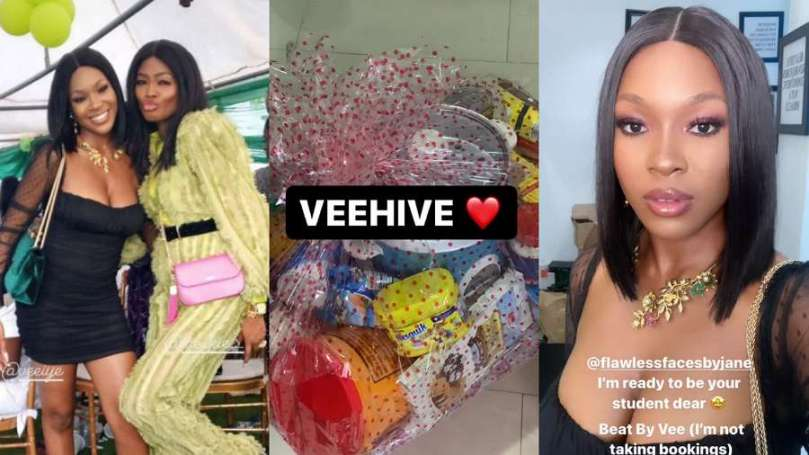 After meeting with her fans, BBNaija's Vee receives surplus gifts (video)