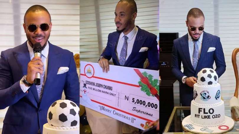BBNaija Ozo's fans shock him for Christmas with a whopping N5m