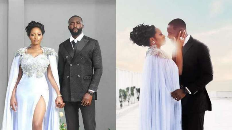 BBNaija couple Khafi and Gedoni celebrate one year engagement and marriage anniversary