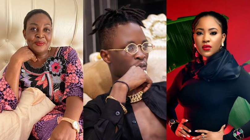 This is what BBNaija Erica's mom said about Laycon in a live video