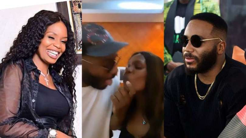 BBNaija's Kiddwaya finally reacts to video of him trying to lock lips with Kaisha
