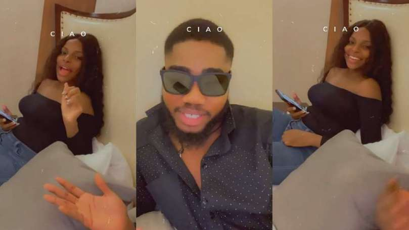While in Abuja together, BBNaija star Wathoni tells Praise why she can't live there (video)