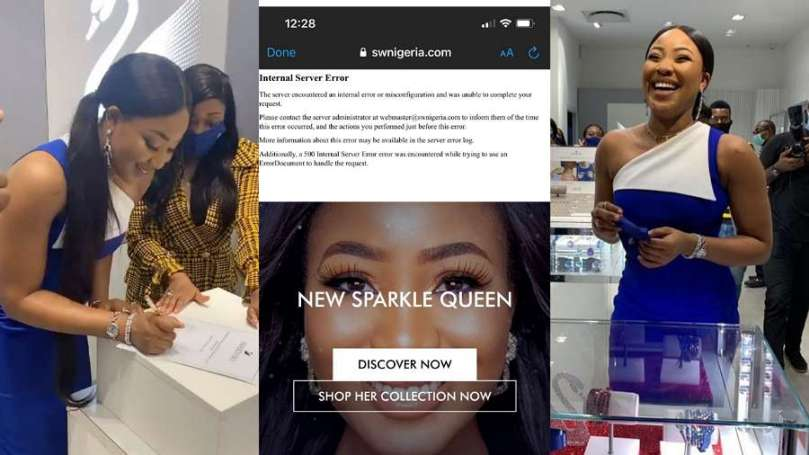 Erica's fans crash website minutes after her unveiling as newest brand ambassador