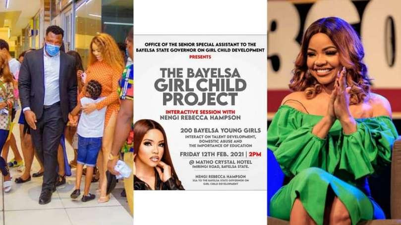BBNaija's Nengi kicks off Girl Child project in Bayelsa, interacts with 200 young girls