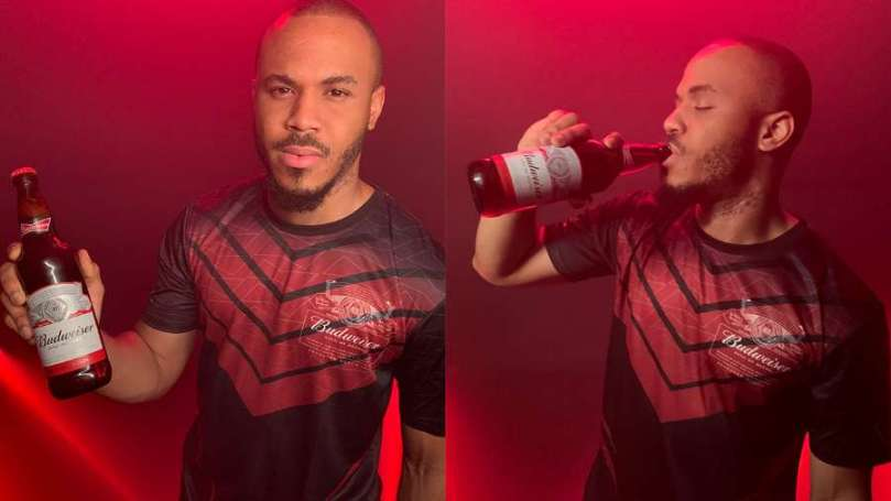 BBNaija's Ozo joins Budweiser family, sets to co-host the brand's King of Football show