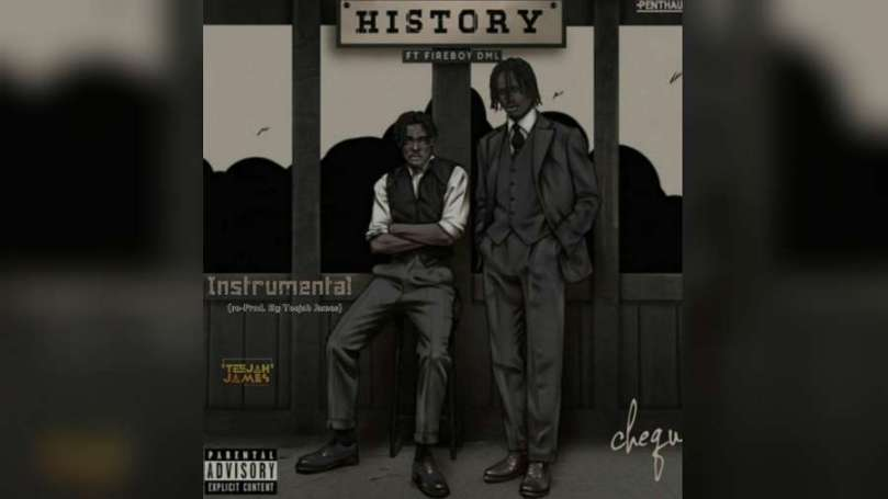 Download Instrumental Cheque – History ft. Fireboy DML (Reprod by Teejah James)