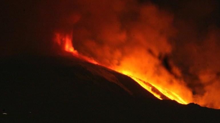 etna eruzione