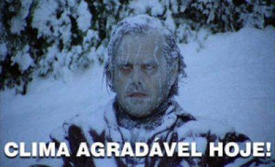 frio muito