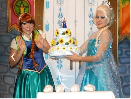 Frozen 2 - As Princesas do Gelo -   Dia 03\07