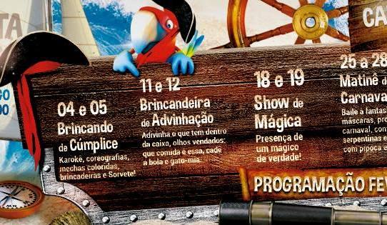 Carnaval é no Planeta Imaginário do Galleria Shopping