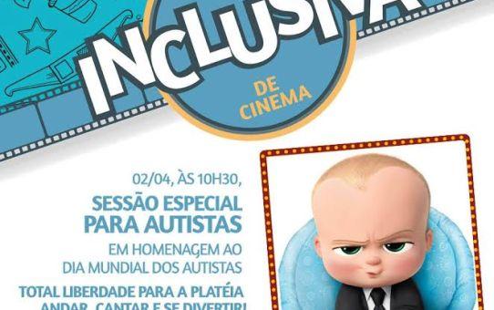 Em comemoração ao Dia Mundial da Conscientização do Autismo, Centerplex e Shopping Center Limeira realizam sessão de cinema inclusiva