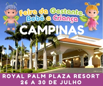 Feira da Gestante, Bebê e Criança acontece de 26 a 30 de Julho em Campinas