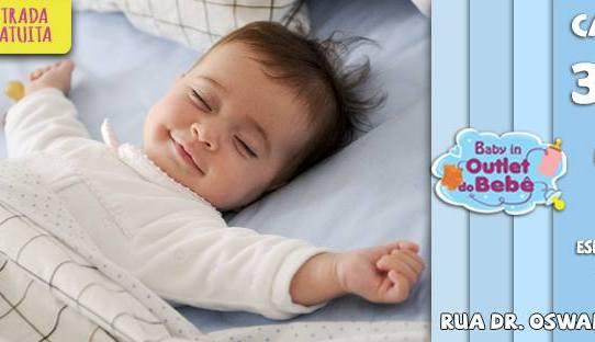 Campinas| Baby in Outlet do Bebê, acontece no Espaço Guanabara neste Sábado 30/09