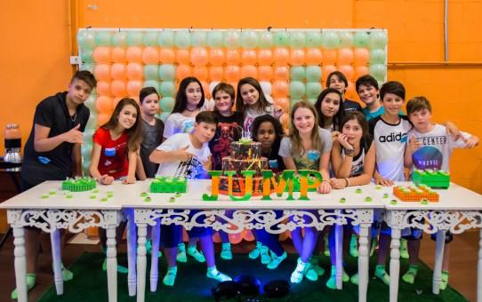 Festa infantil no Jump Mania do Iguatemi Campinas com descontos especiais