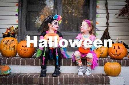 Halloween para ir com crianças