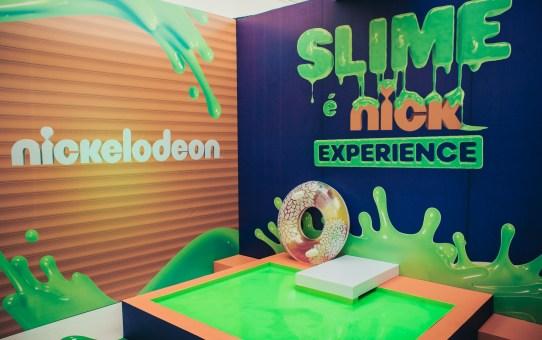 Slime é Nick Experience, atração gratuita em Campinas