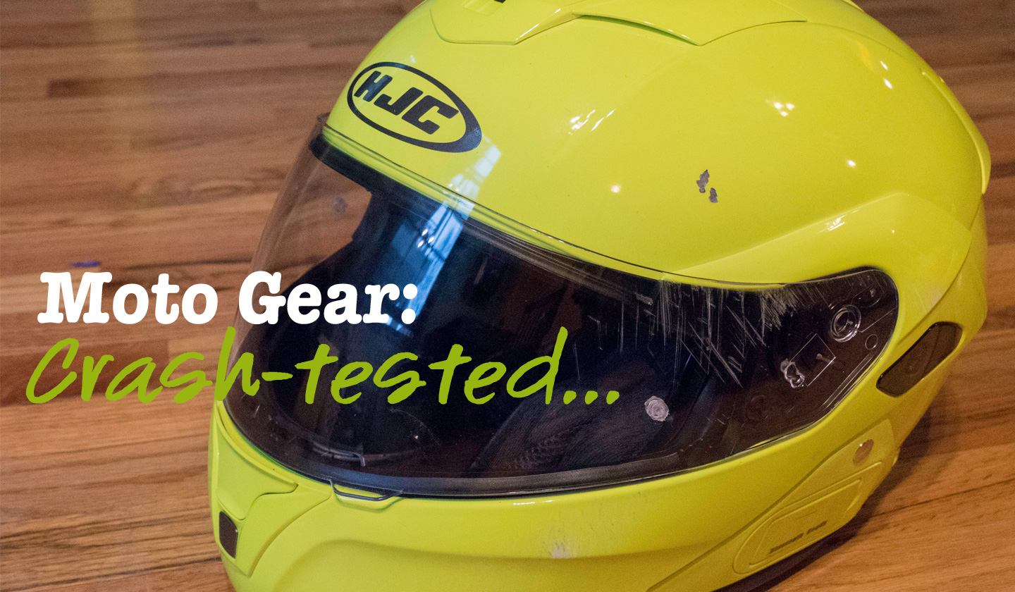 Moto Gear: Crash Tested