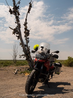 Geocaching by motorcycle is both more challenging and more rewarding than other methods.