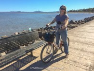 bicycling in loreto baja - val in real life
