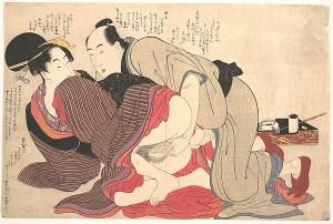 Due opere di Kitagawa Utamaro