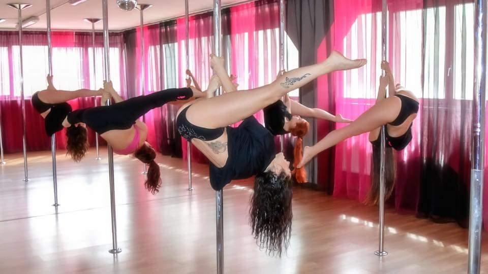 Una lezione alla Pole Dance Bologna
