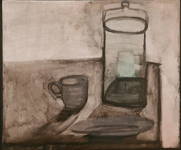 Still life with jar and cup, 1945