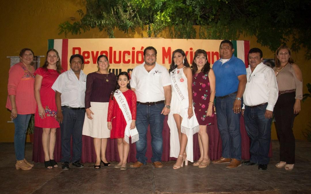 Actividades deportivas y culturales en los festejos de la Revolución.