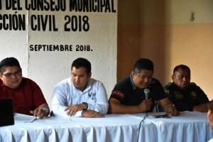 Integración del consejo de protección civil en Valladolid Yucatan
