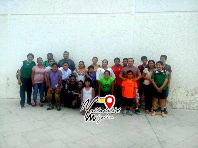 9 jóvenes atletas de la disciplina de halterofilia representarán orgullosamente a Valladolid en las eliminatorias estatales de la Olimpiada Nacional