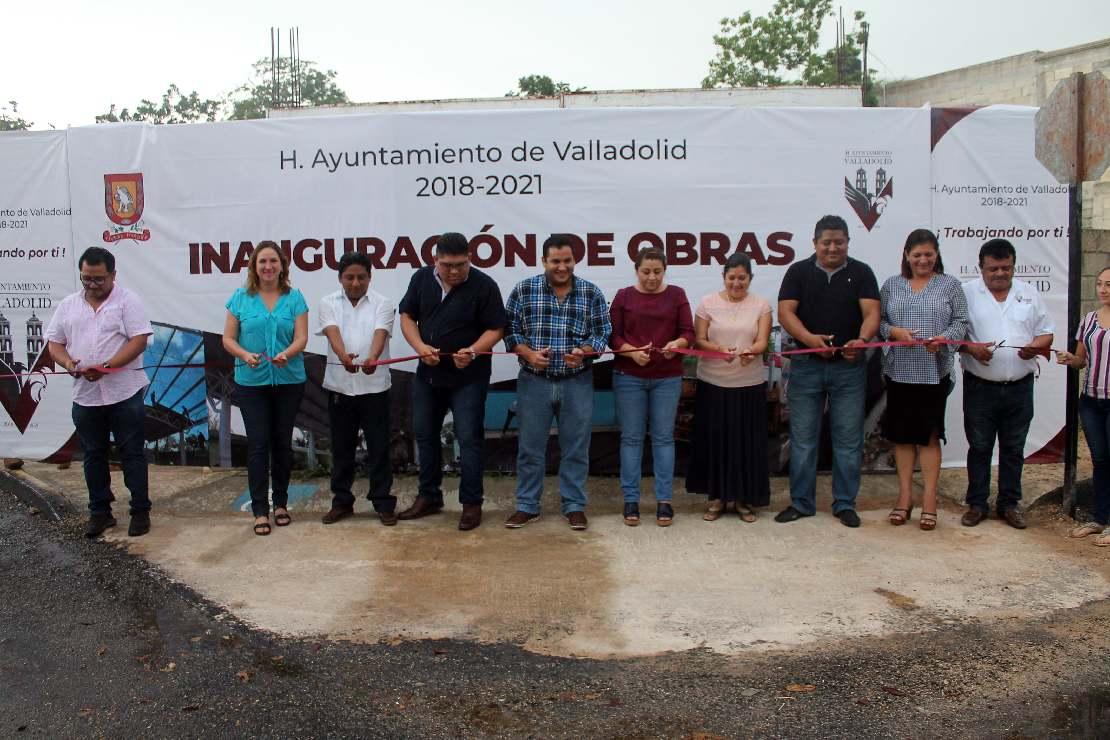 Emiliano Zapata, recibe obras para la mejora de la colonia