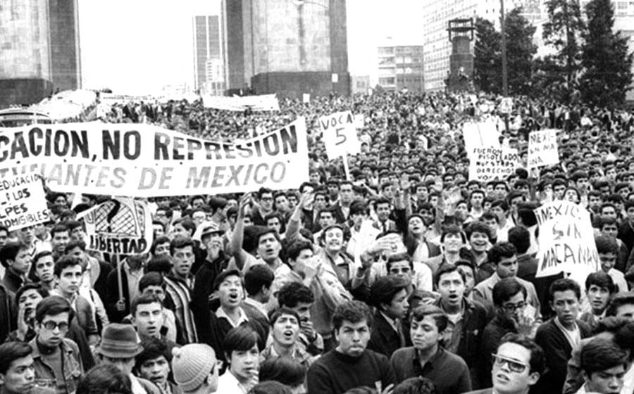 Resultado de imagen para archivos del movimiento estudiantil del 68