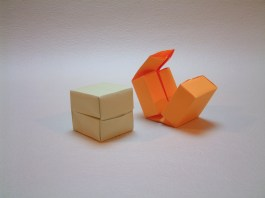 Four compartment container from an idea by Mario Centurelli