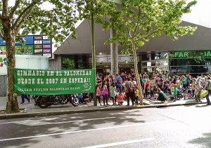 El cole llevó su reivindicación el 4 de mayo frente a la Asamblea de Madrid.
